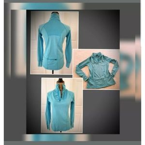 Athletic pullover womens Small LS Reflex 1/4 zip